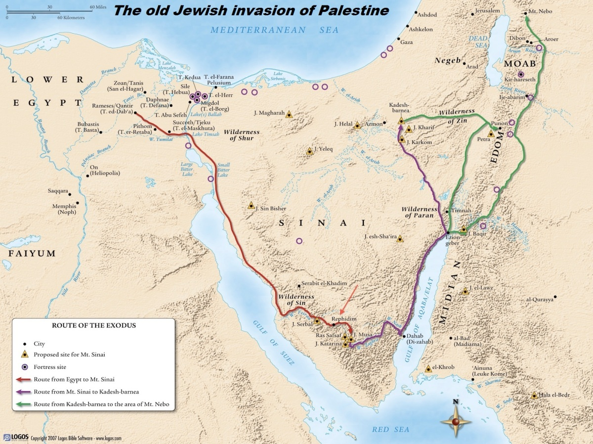 The Jewish History in Palestine !!